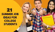 21 Best Summer Jobs For College Students to Make Extra Cash