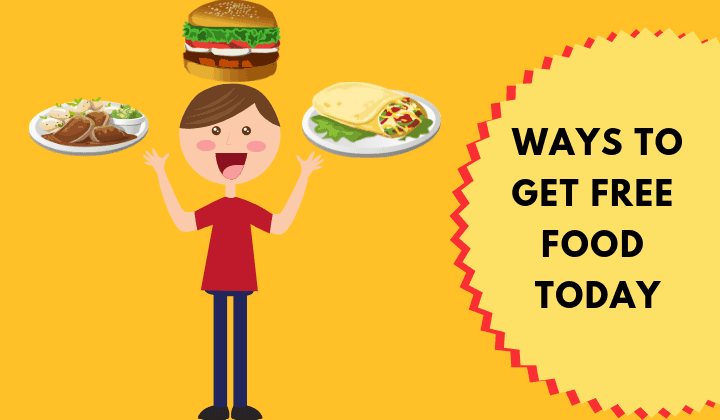 How To Get Free Food in 20 Simple Ways